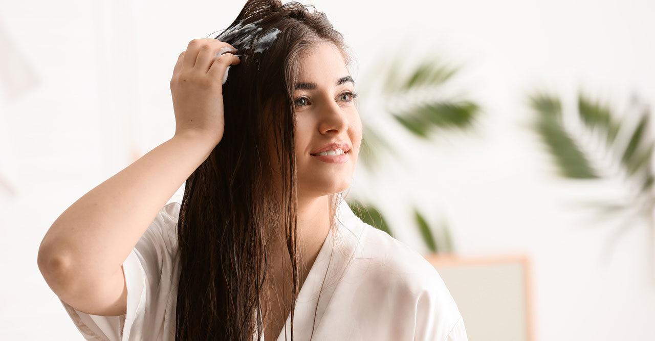 hårinpackning torrt hår göra själv