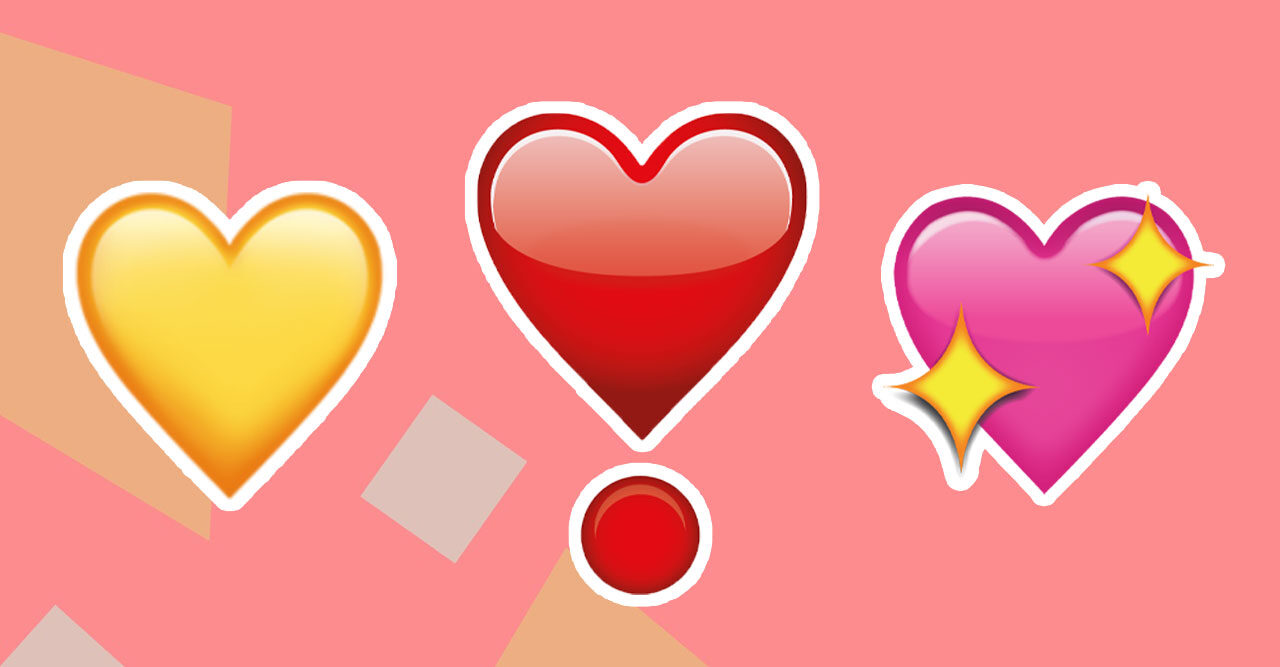 gult hjärta emoji betyder
