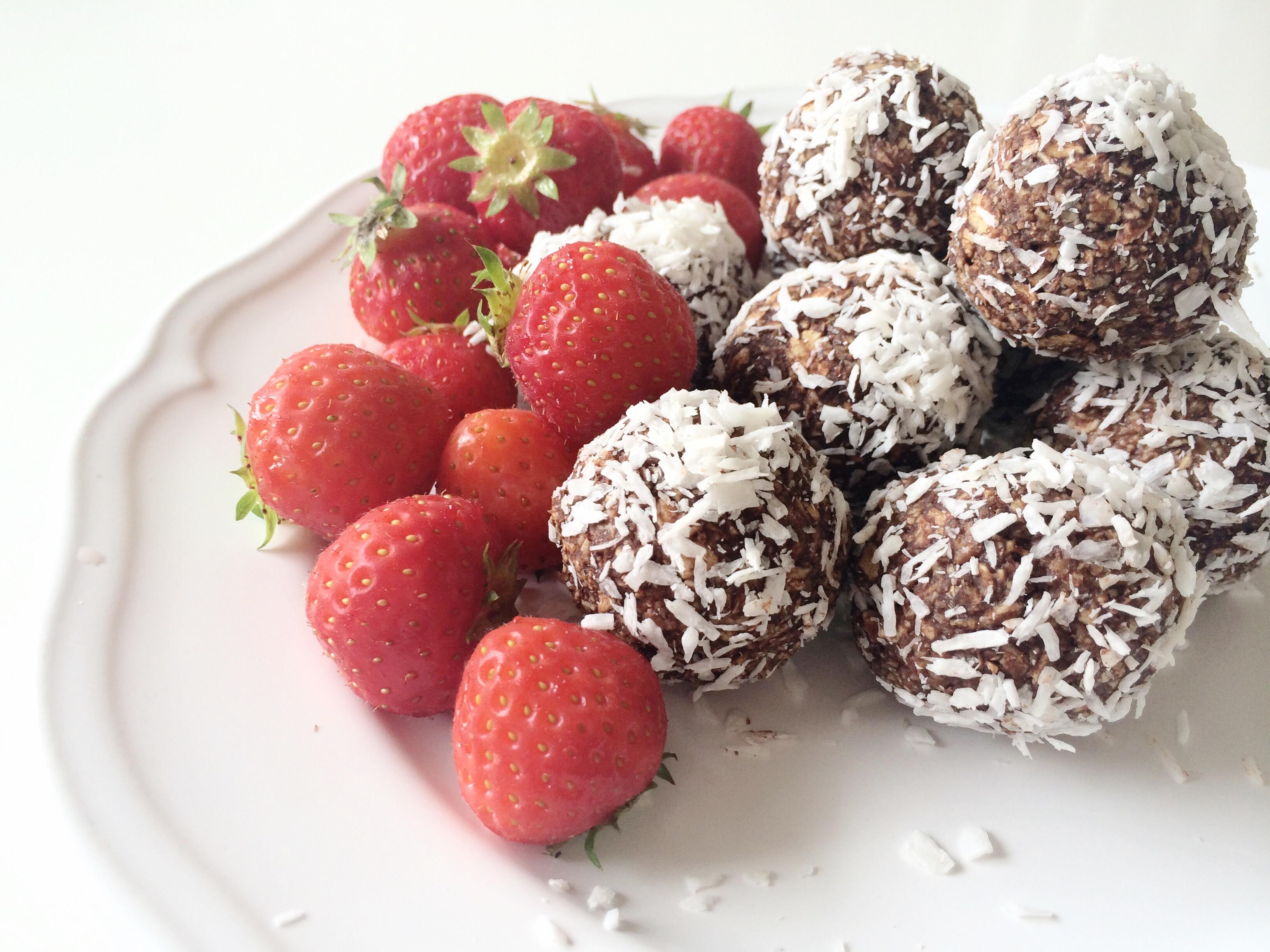 Recept: Chokladbollar på fibersirap