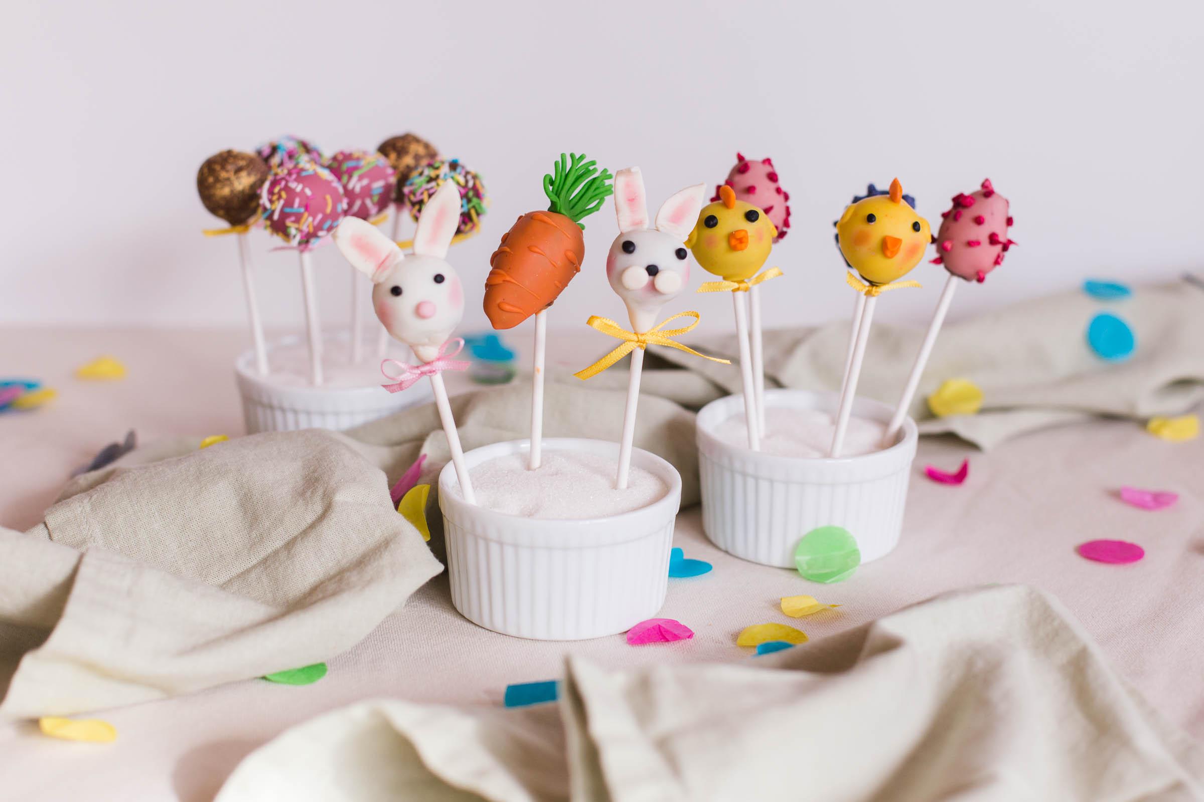 Sött och gott i påsk – Cake pops och marsipanfigurer